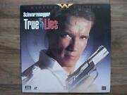 True Lies Laserdisc
