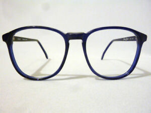 Vintage Regency Eyewear Blue 56 Lens 17 Bridge Eyeglass Frame