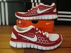 Nike Red Nike Free Athletic Shoes for Women