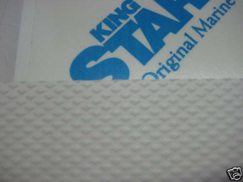 3/4 X 27 X 48  White king starboard Anti skid diamond pattern non slip 24 12 54