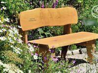 Celtic Forest Larch Carmarthen Garden Bench (5 ft)