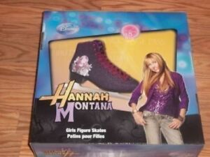 HANNAH MONTANA ISE SKATES STILL IN ORIGINAL BOX SIZE 5