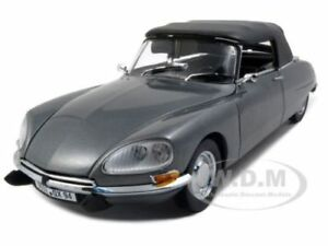 DIECAST CITROEN DS 21 CONVERTIBLE GREY 1:18 PLATINUM SUNSTAR