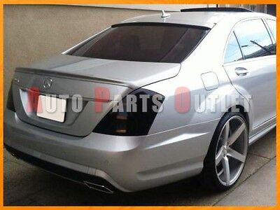 M-BENZ W221 S350 S400 S550 Painted AMG Trunk Lip + L-Type Roof Spoiler 2007-2013 for sale  Shipping to Canada