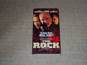 THE ROCK, VHS MOVIE, EXCELLENT CONDITION