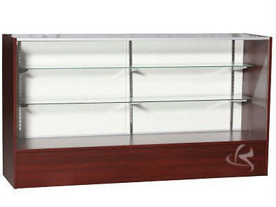 70 Cherry Full Vision Showcase Display Store Fixture Knocked Down Sc6c-sc