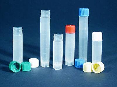 Azzota 100pcs Medium Cryogenic Storage Vials 2.5ml Low Temperature Vials -90c