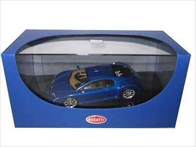 Bugatti Chiron Eb 18 3 Blue 1 43 Diecast Car Model By Autoart 50911