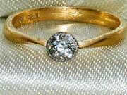 Victorian Solitaire Diamond Ring