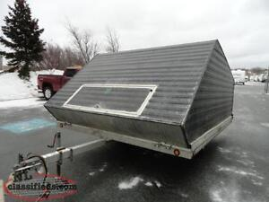 Continental Clamshell Trailer
