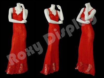 Female Fiberglass Headless Style Mannequin Dress Form Display Md-a6bw2