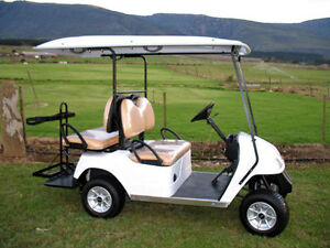 WANT GOLF CAR WITH GOOD RUNNING BATTERIES