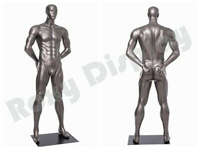 Male Mannequin Muscular Football Player Dress Form Display Mc-brady05