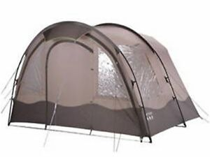 Gelert Horizon 4 & 8 tent end enclosed porch - TEN350 Chestnut/sandshell/cocoa