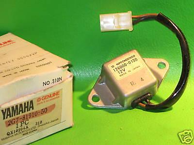 YAMAHA TX500 XS500 '73-78 VOLTAGE REGULATOR ASSY OEM