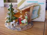 Vintage Plastic Nativity