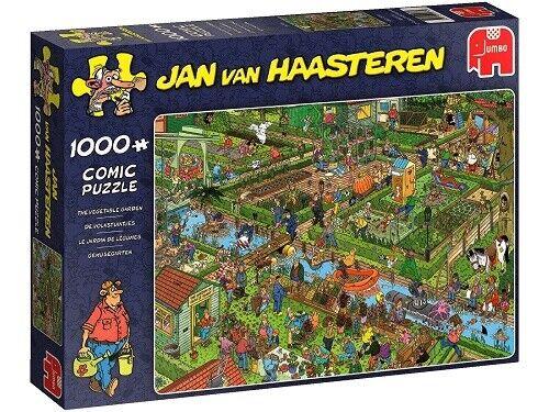 Jumbo 1000 Piece Jigsaw Puzzle - Jan Van Haasteren: The Vegetable Garden