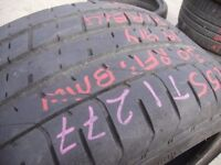 255/30/19 Pirelli P Zero TM, Runflat, BMW, 6.4mm (454 Barking Rd, Plaistow, E13 8HJ) Second Hand
