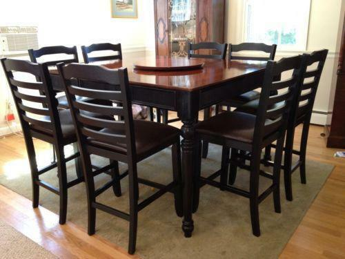 9 Piece Dining Table Ebay