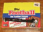 Topps Football Sticker Box