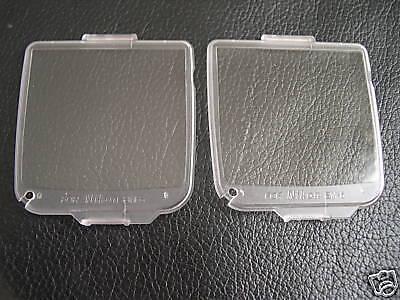 New 2 x LCD Covers for Nikon D200 BM6, BM-6 BM 6