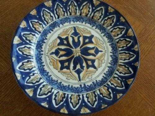 Blue and white decorative plates ebay