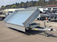 2017 SARIS TIPPER TRAILER, ELECTRIC AND MANUAL TIPPER