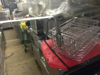 2 X FAST FOOD HENNY PENNY BASKET WITH 2 X HANDLE / PRESSURE FRYER BASKET HINGED SPECIAL OFFER