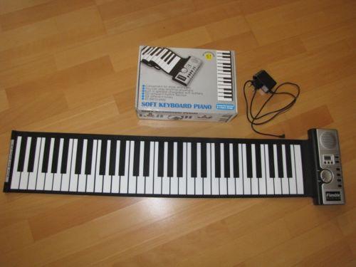 elektronisches klavier tasteninstrumente ebay. Black Bedroom Furniture Sets. Home Design Ideas