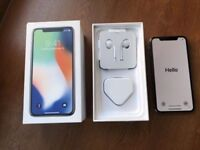 iPhone X 256gb, unlocked with apple care+ (Space Grey) Brand New!