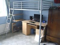 High Sleeper (Cabin Bed) with desk