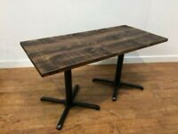 Heavy Duty Bespoke Hand crafted Wooden Table 1500x700mm Pub Bar Bistro