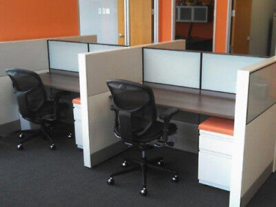 Used Office Cubicles Herman Miller Ethospace Cubicles 4x4