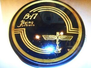 WW II Boeing B-17 Flying Fortress Control Yoke Hub Paperweight    BOE-0101