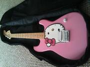 Hello Kitty Electric Guitar