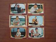 1955 Bowman Baseball Card Lots
