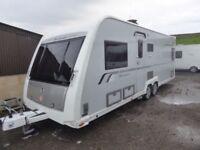 Buccaneer Schooner,solid,twin movers,4 berth,fixed bed,twin axle,bike rack.