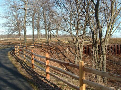 Split Rail Fence Ebay