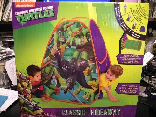 Nickelodeon Teenage Mutant Ninja Turtles Classic Hideaway Playhut Play Tent
