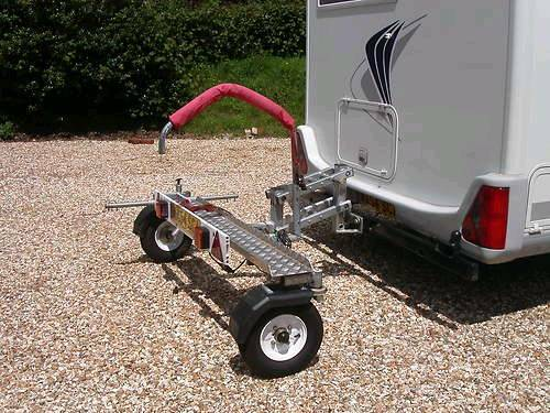 Hydraulic Lift Motorcycle Trailer : Easy lifter hydra tail motorcycle carrier in weymouth