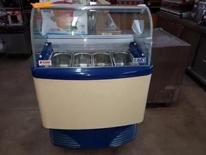 Gelato Freezer Showcase - Reconditioned - iFoodEquipment.ca