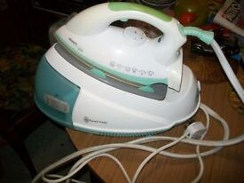 Used Russell Hobbs Smartglide Pro Steam Generator Iron - 2200 Watt.