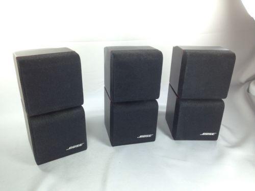 bose acoustimass 3 speakers ebay. Black Bedroom Furniture Sets. Home Design Ideas