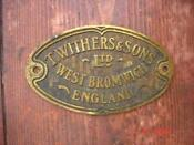 Vintage Brass Plaque