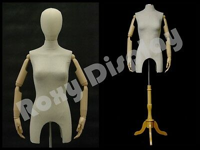 Female Body Form Straight Pinnable With Arm And Head F4larm-jfbs-01nx