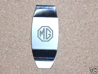 MG  logo -  money clip ORIGINAL BOX