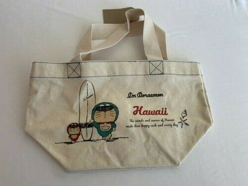 Doraemon Mini Tote Bag Hawaii