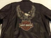 Harley Davidson Mens Leather Jacket XL