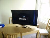 "Samsung Smart 3D Full HD LED TV 46"" UE46f6500SB (Cracked Screen) spares or repair"