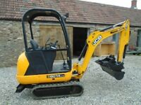 MINI DIGGER HIRE - WACKER PLATE
